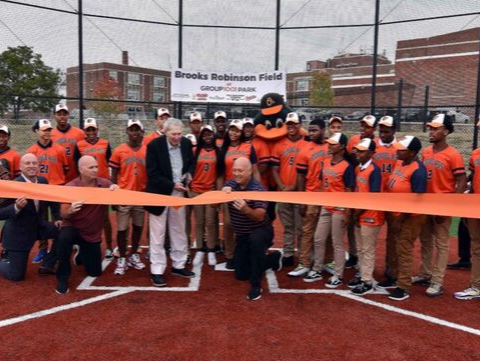 Cal Ripken, Sr. Foundation Honors Oriole Legend Brooks Robinson at Field Opening
