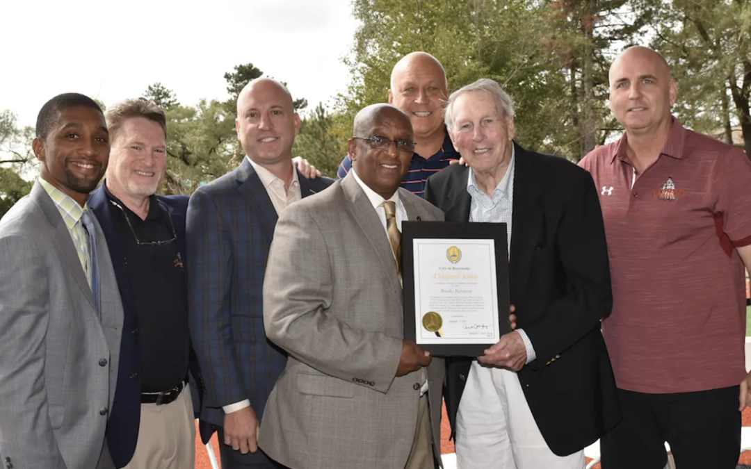 Celebrating Maroon PR Wins: Brooks Robinson Field Opening