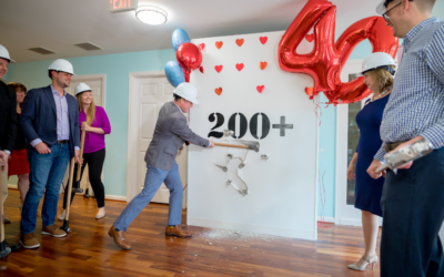 RMHCDC's Wall Breaking Event