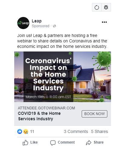 LEAP ad